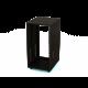 Нестандартная рэковая телекоммуникационная  серверная стойка открытая AVRackR-20U640