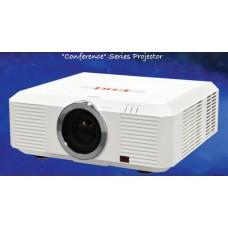 Проектор EIKI EK-501W3LCD, яркость 6100 ANSI lm, разрешение 1280x800, Контрастность 2500:1, горизонтальное и вертикальное смещение объектива, со стандартным объективом, вес 12,7 кг