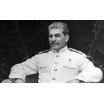 Голографическая 3D проекция на пленке 3D Holo, Сталин и Полководцы, музей Парка Победы