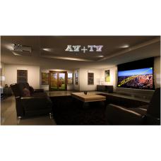 """Домашний Кинотеатр со светодиодным проектором HC-Cheap 85"""" - 174 х 98 см"""