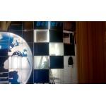 Выставка в Храме Христа Спасителя. Голографические экраны.