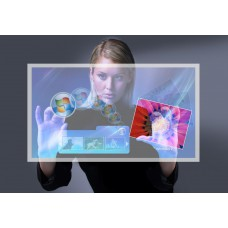 """Интерактивная витрина I-Ночная 65"""" - 160 х 110 см - 2500 АнсиЛМ - Внутри помещений - InDoor"""