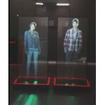 Голографическая прозрачная проекционная пленка для шоу рума BMW