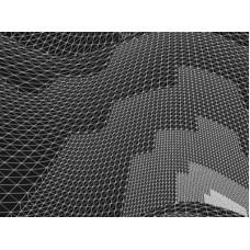 ProGrid grey - серая голографическая проекционная сетка для помещений с контролем уровня света