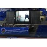 Сочи Малая ледовая арена, экран обратной проекции 7.5х 6 метров пленка Ifoha Pearl Black