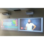 Интерактивная стена для технопарка Менделеева