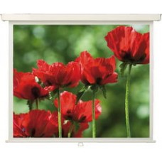 MW Экран ручной рулонный настенно-потолочный Rollo Universal 200 x 200, Формат: 1:1