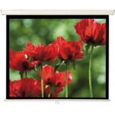 MW Проекционный экран рулонный подпружиненный Rollo Premium 180 x 128, Формат 16:9