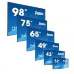 Профессиональные сенсорные интерактивные панели IIYAMA для постоянного использования и арендных инсталляций