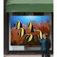 """Проекционная витрина PREMIUM 140""""  - 270 х 200 см - 11 000 АнсиЛМ - Уличная OutDoor"""