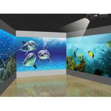 Интерактивная стена прямой проекции I-Wall 2700 АнсиЛМ, 2000х1250 мм мультитач 50 касаний, Indoor