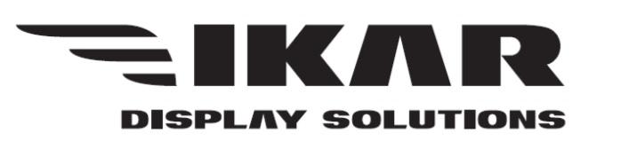 панели для видеостен IKAR