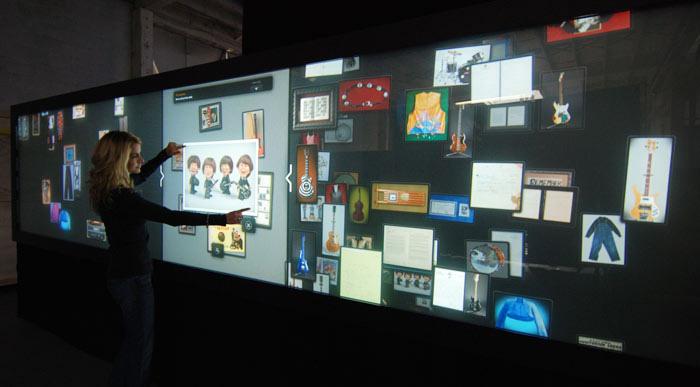 Интерактивная стена